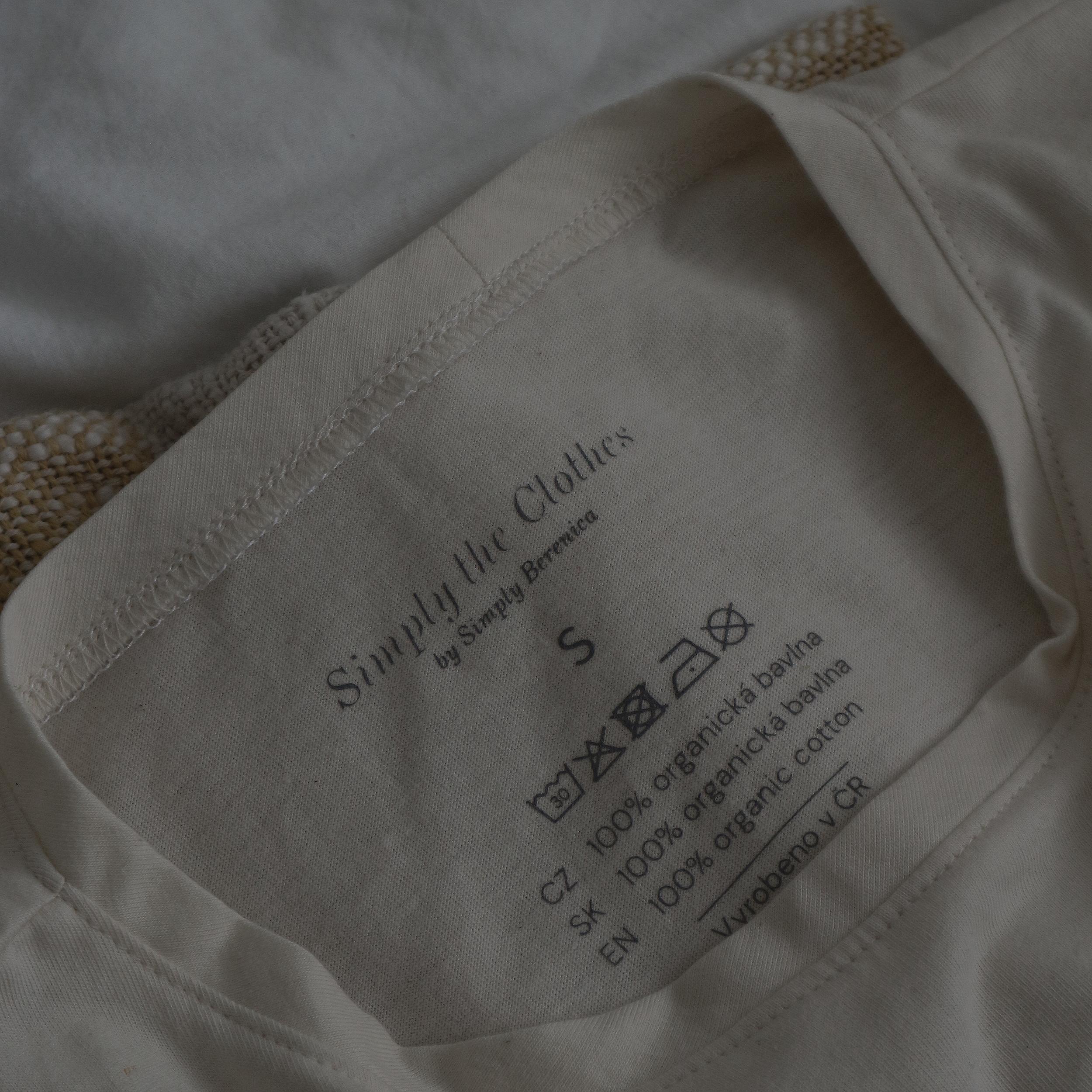 Tričko z organickej bavlny